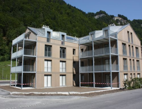 Neubau MFH beim Bahnhof Linthal